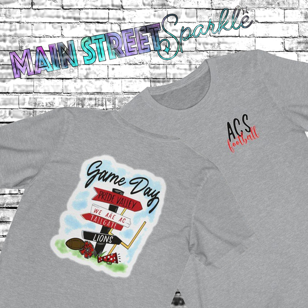 {PRIDE VALLEY SIGN} Soft Style Tee