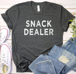 {Snack Dealer} Soft Crew Neck Tee