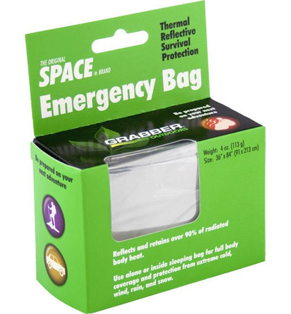 THE ORIGINAL SPACE BRAND EMERGENCY BAG
