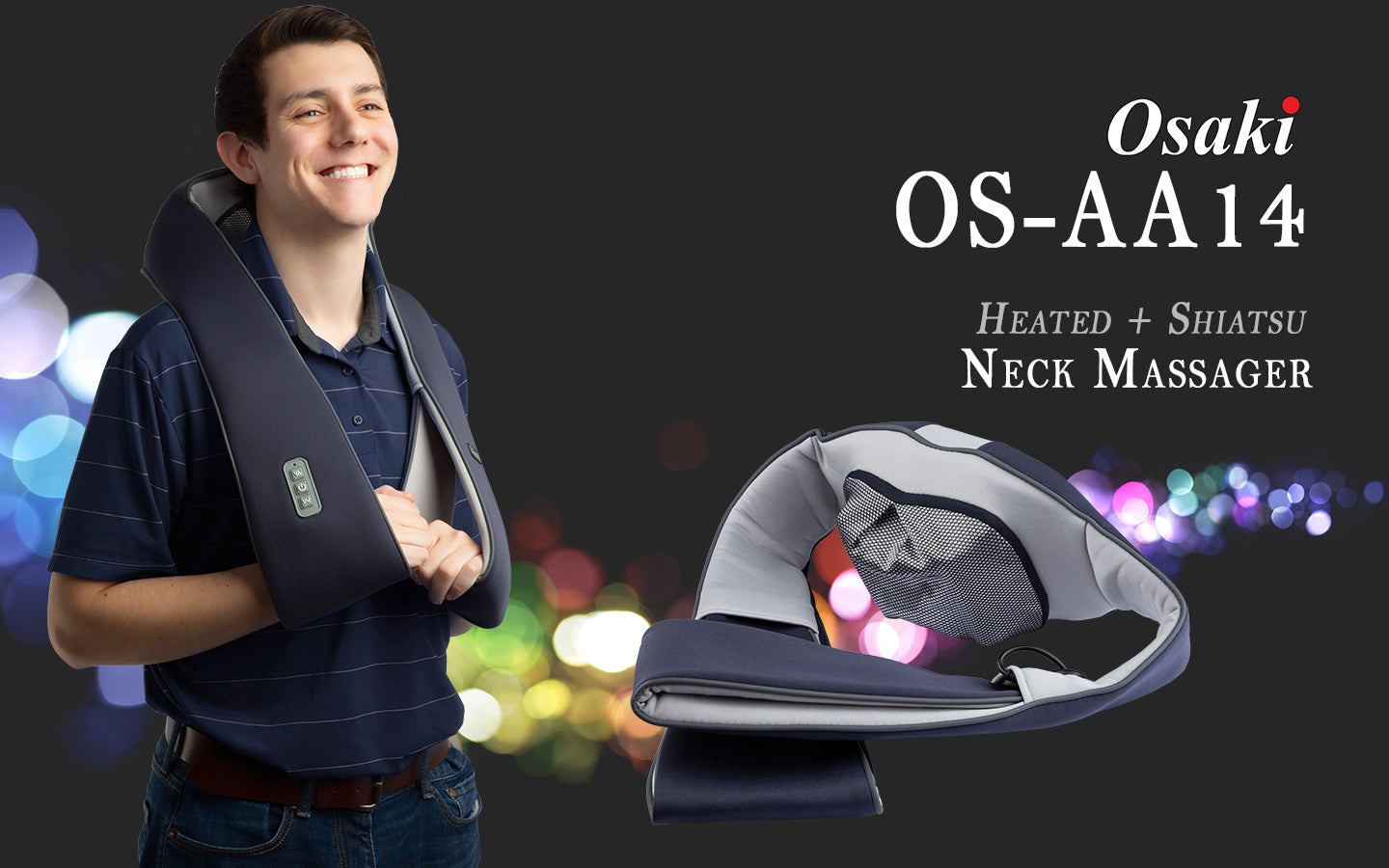 OS-AA14 Neck Massager Banner