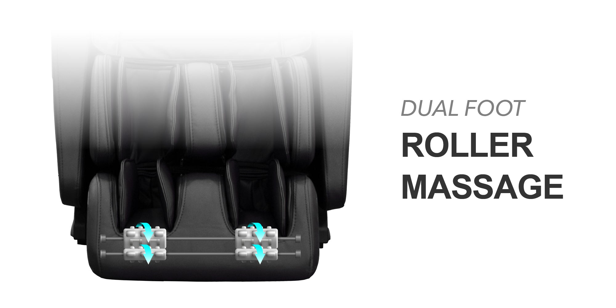 dual foot roller massage