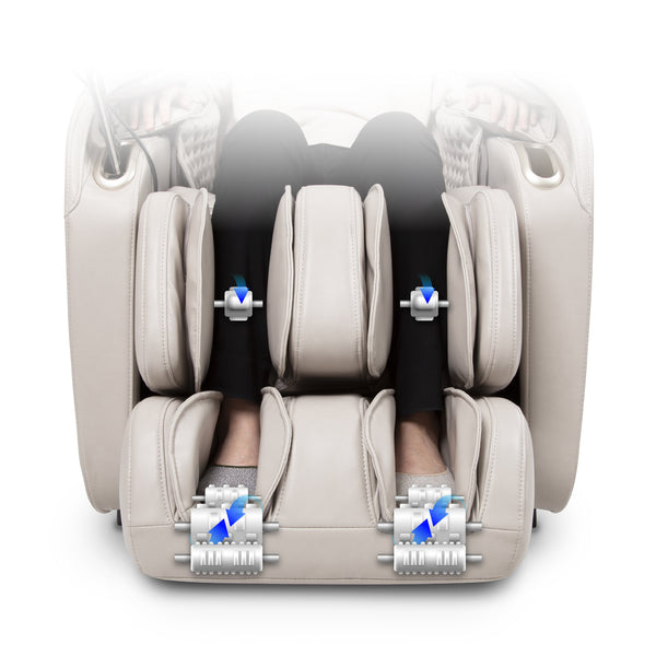 Titan Elite 3D Massage Chair - Calf and Foot Rollers