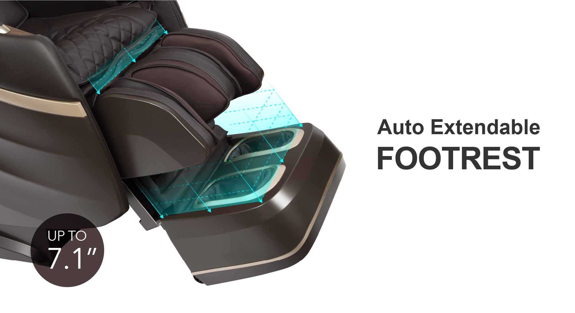Auto Extendable Footrest