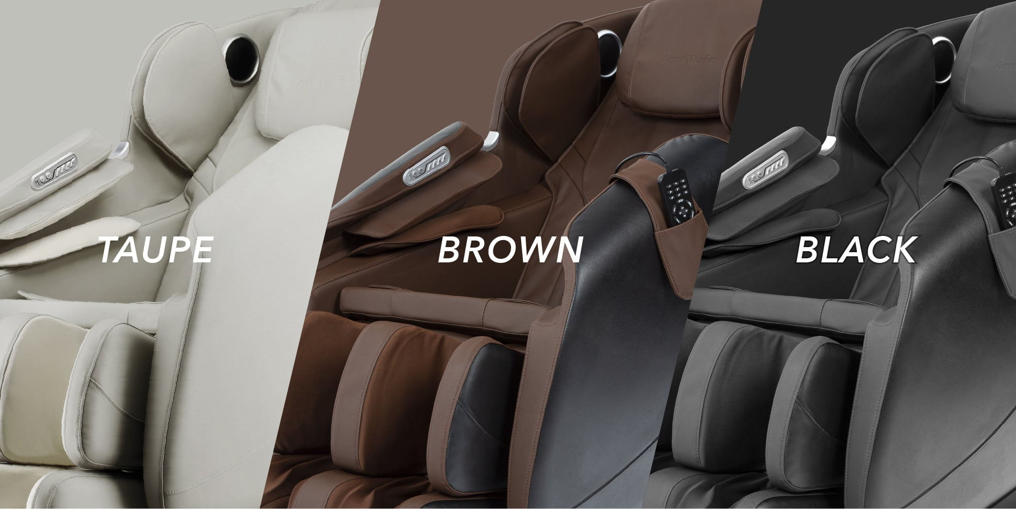 R7's Colors : Taupe, Brown, Black