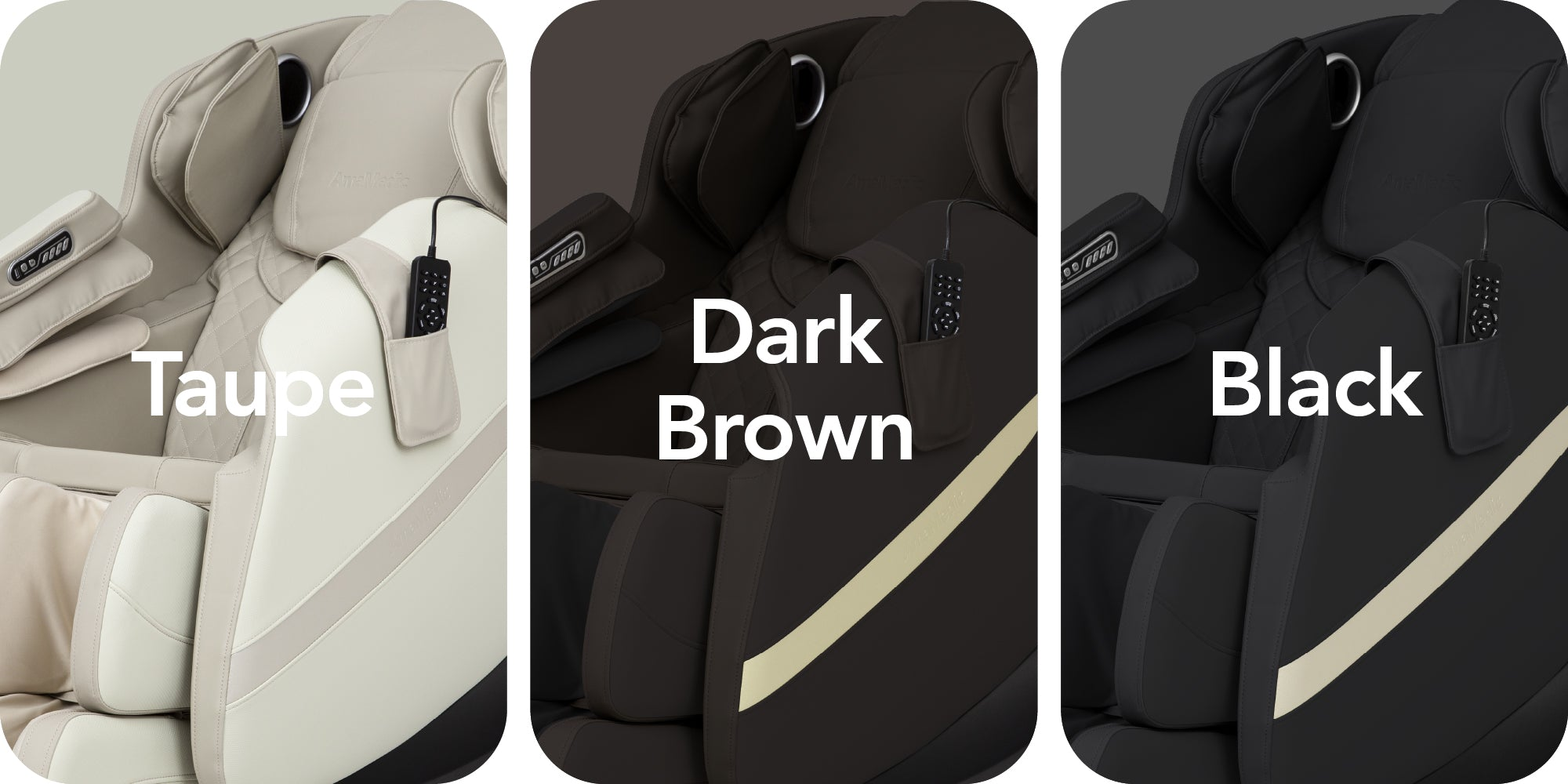 Q7's Colors : Taupe, Brown, Black