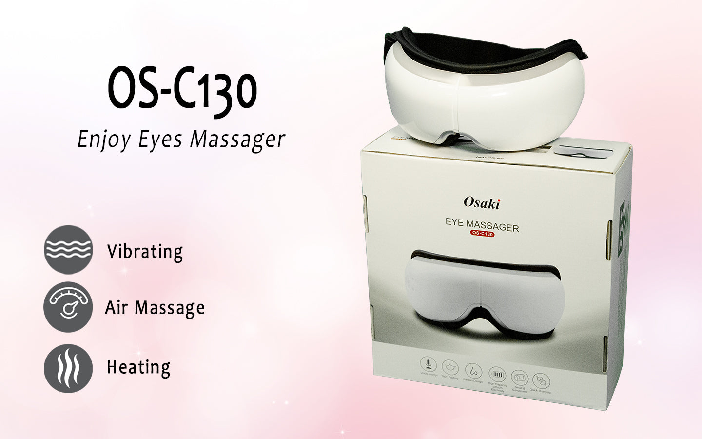 Vibrating, Air Massage, Heating