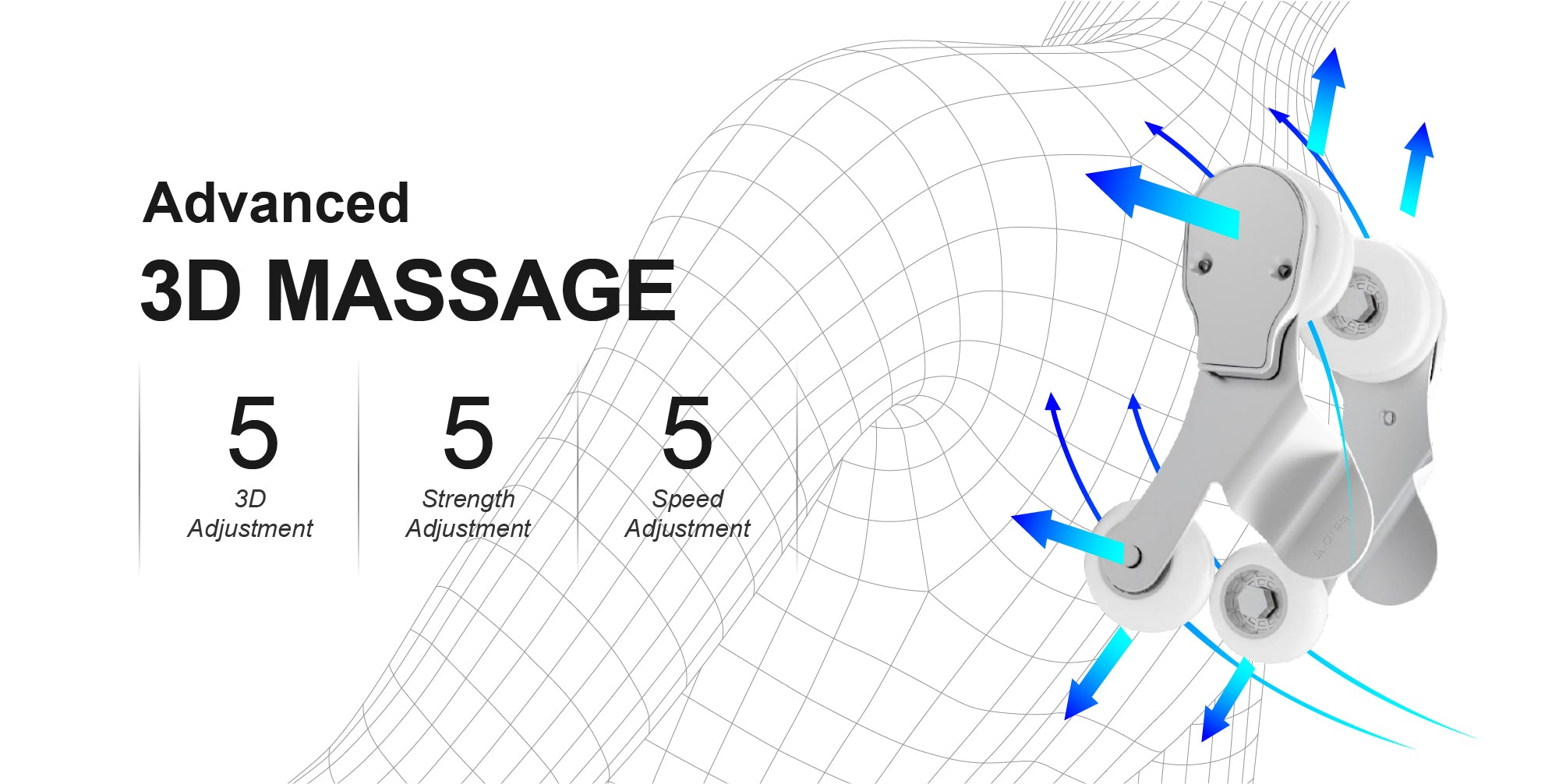 advanced 3d massage