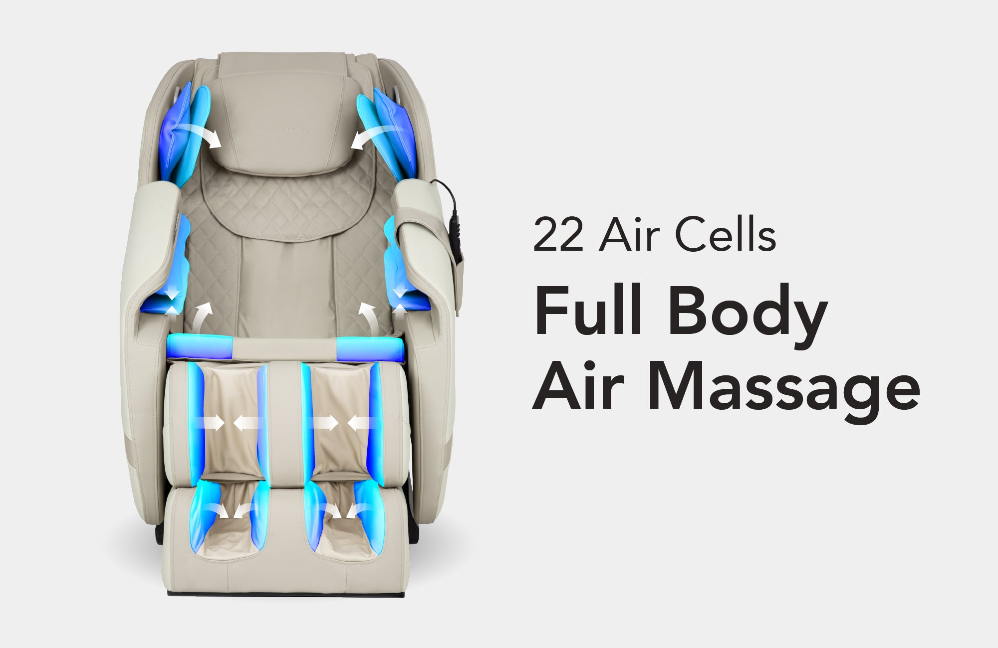 22 Airbags Air Massage