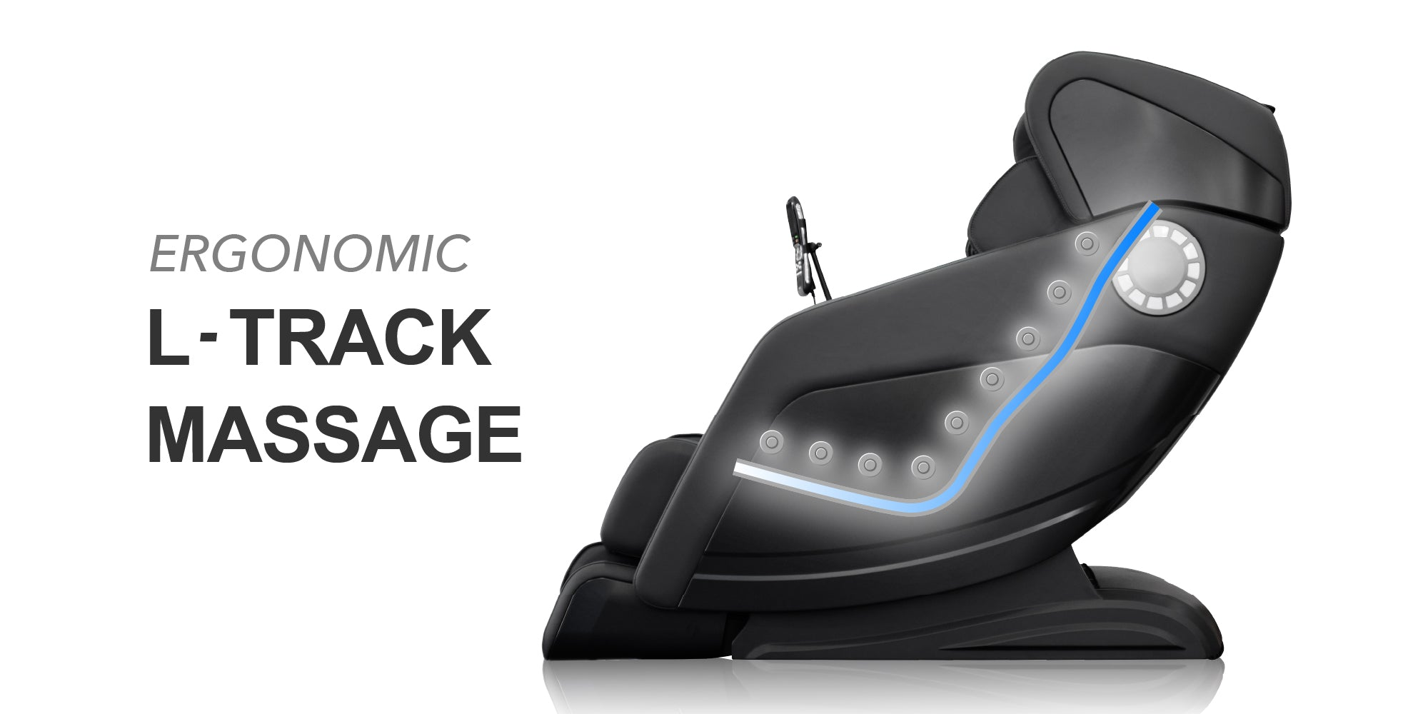 ergonomic s-track massage