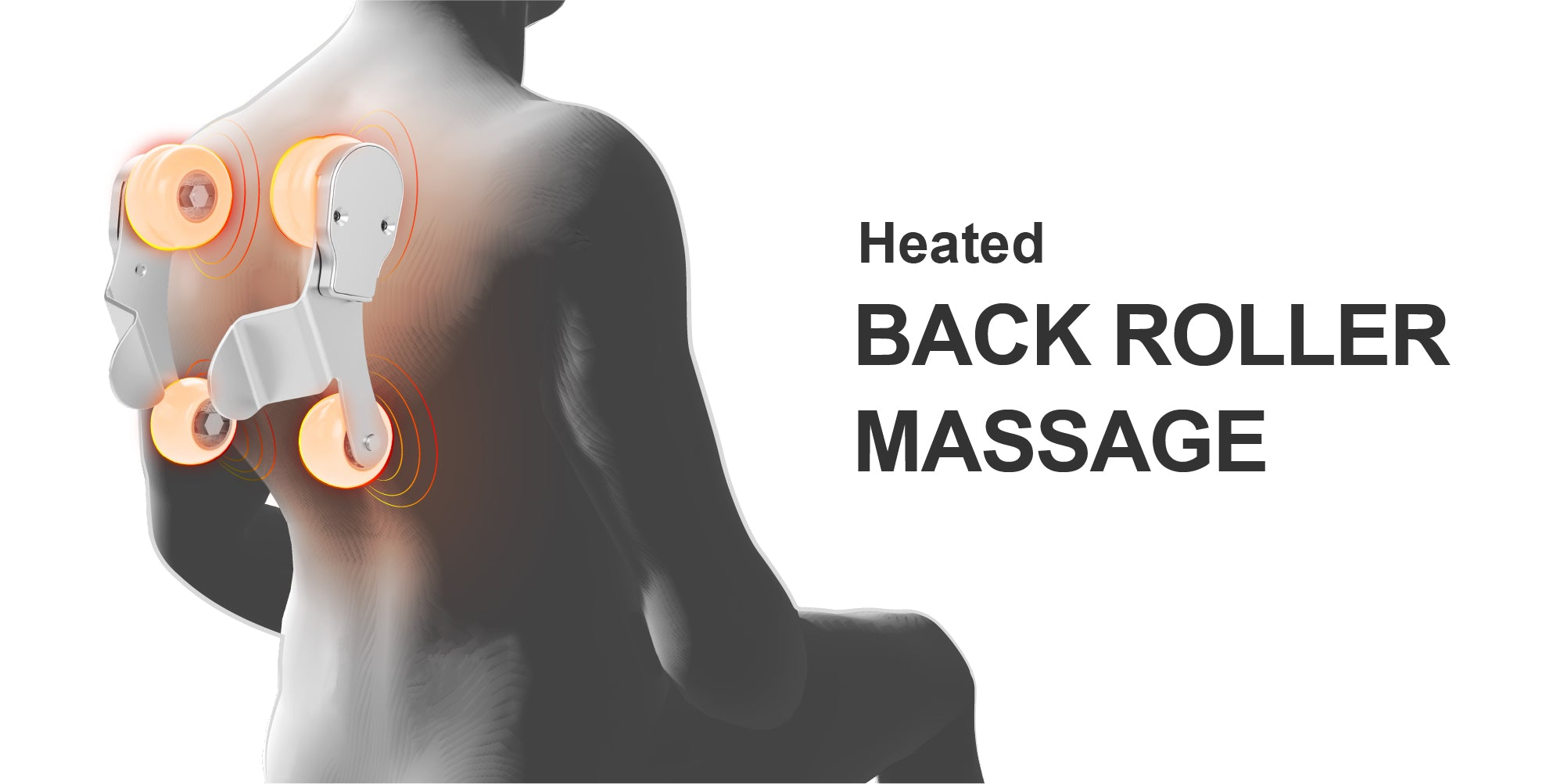 Heated Back Roller Massage
