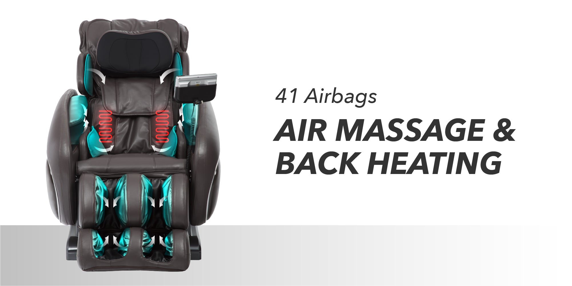 41 Airbags Air Massage & Back Heating