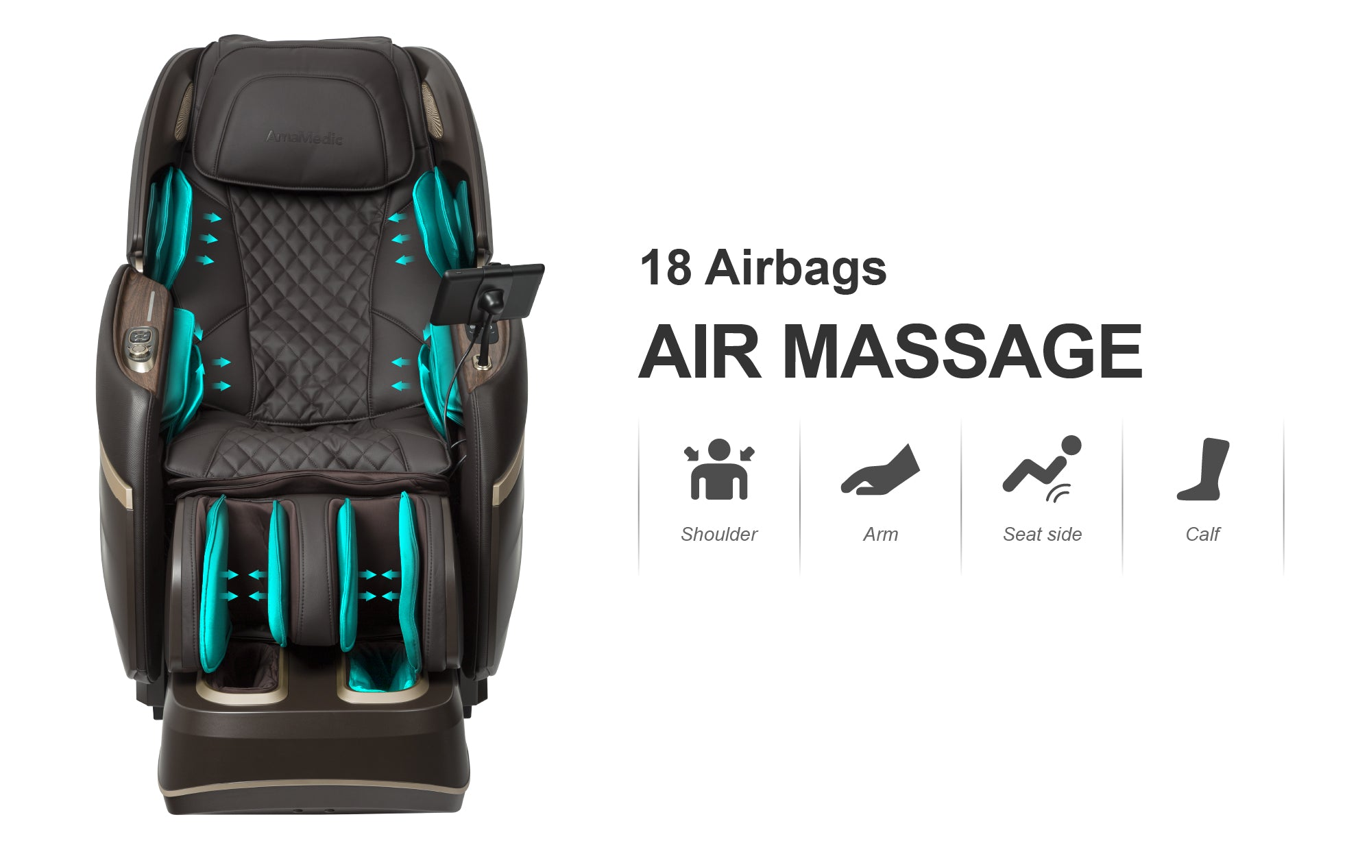 18 Airbags - Air massage