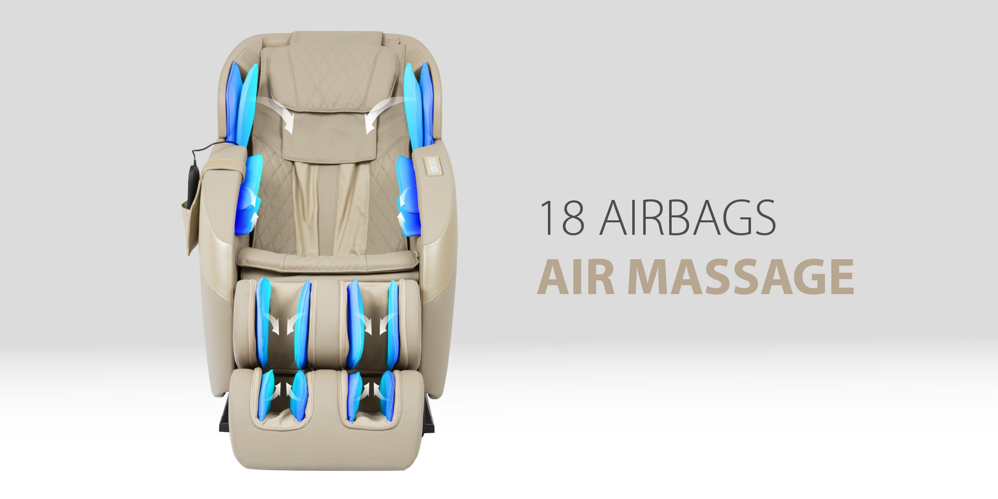 18 Airbags Air Massage