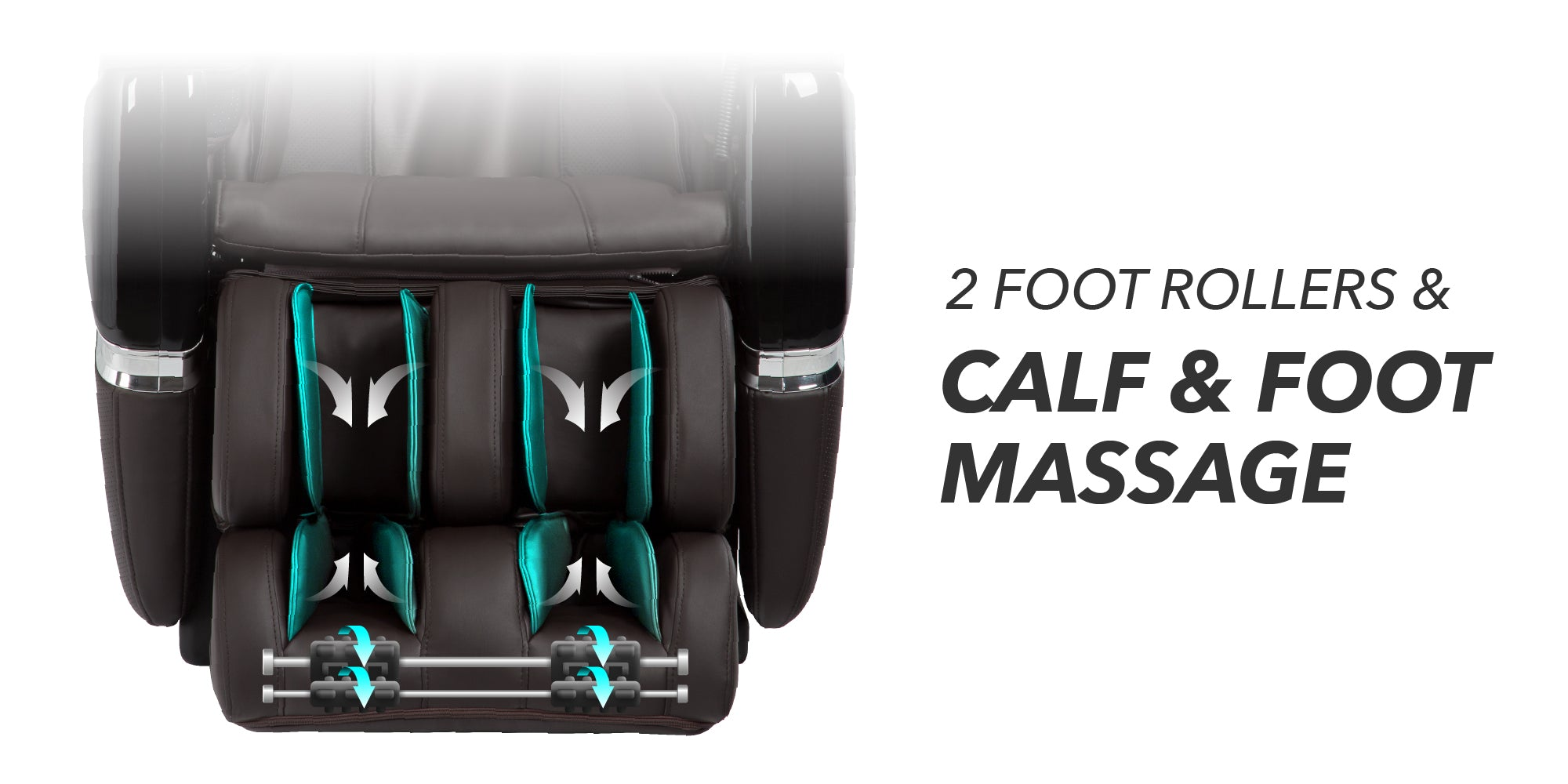 2 Foot Rollers, Calf & Foot Massage