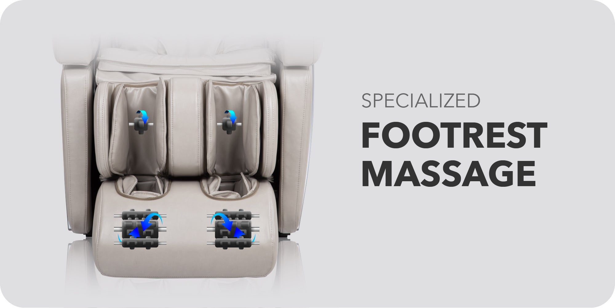 Specialized Footrest Massage
