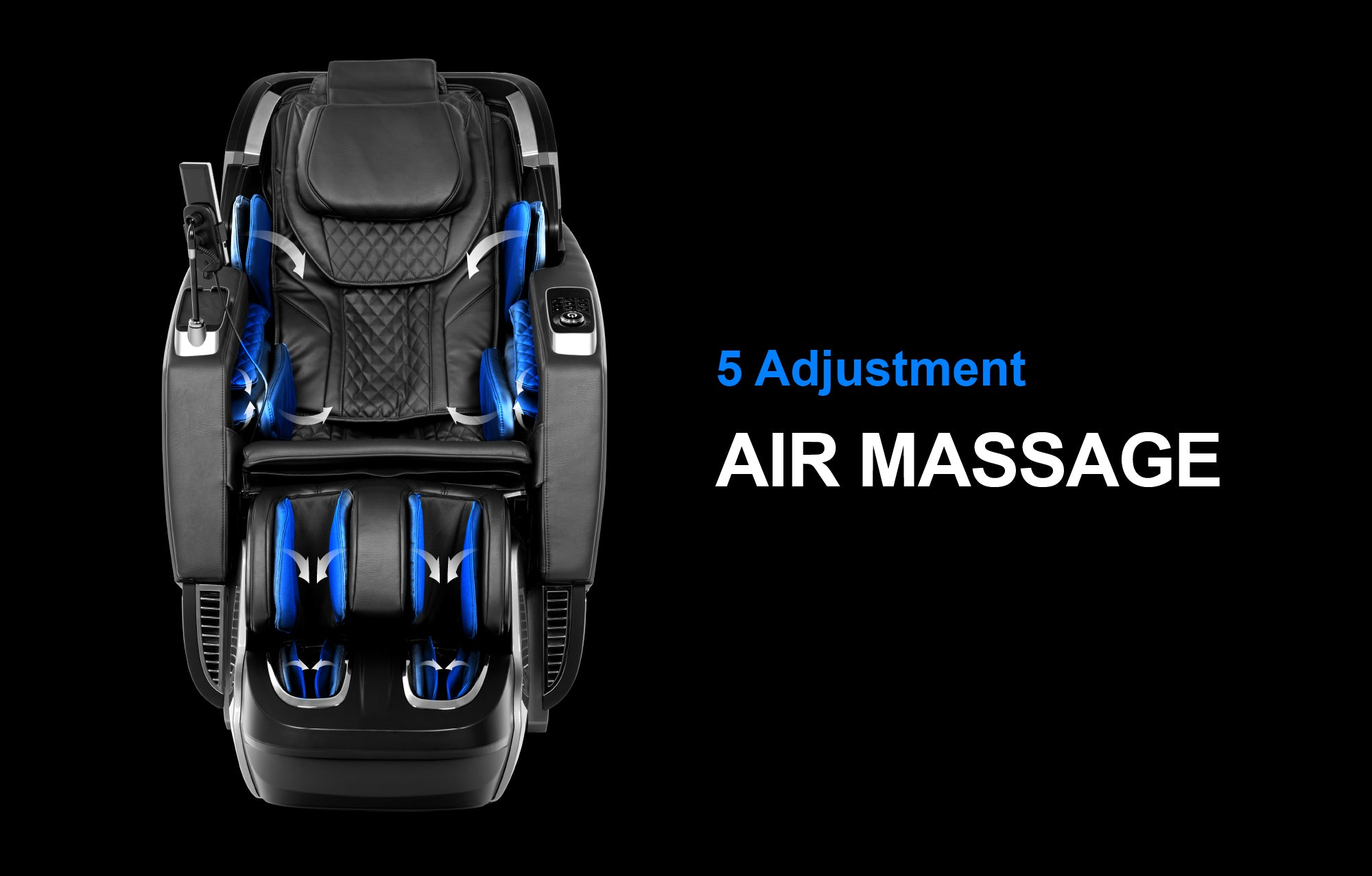 5 Adjustment Air Massage