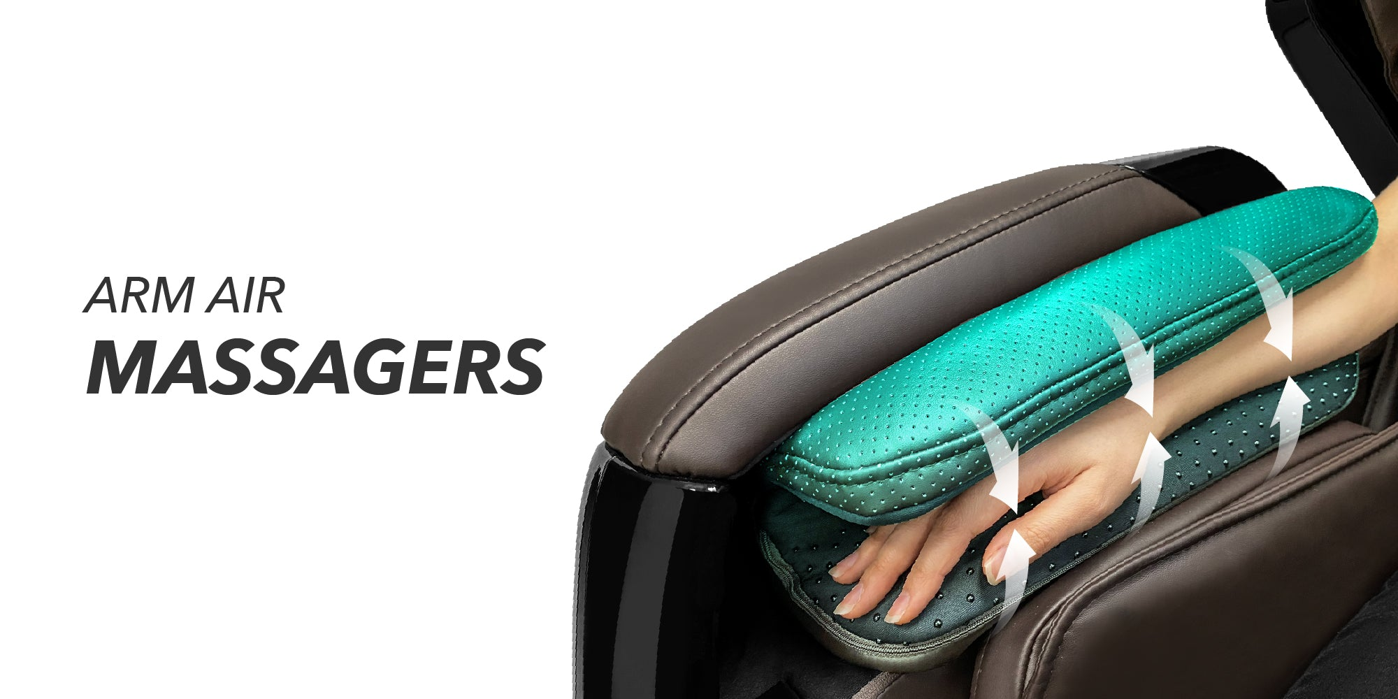 Arm air massagers