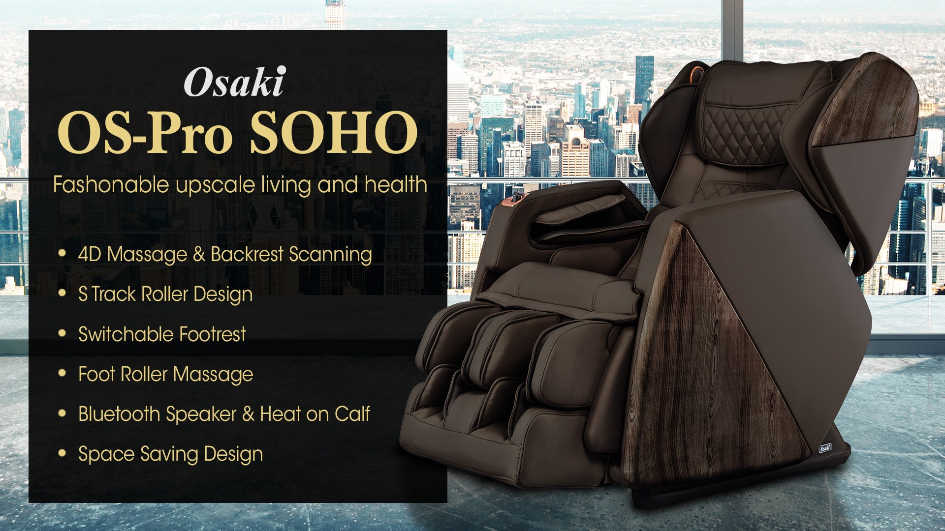 SOHO Banner - Fashonable upscale living and health