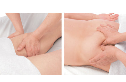Left-right independent holding massage