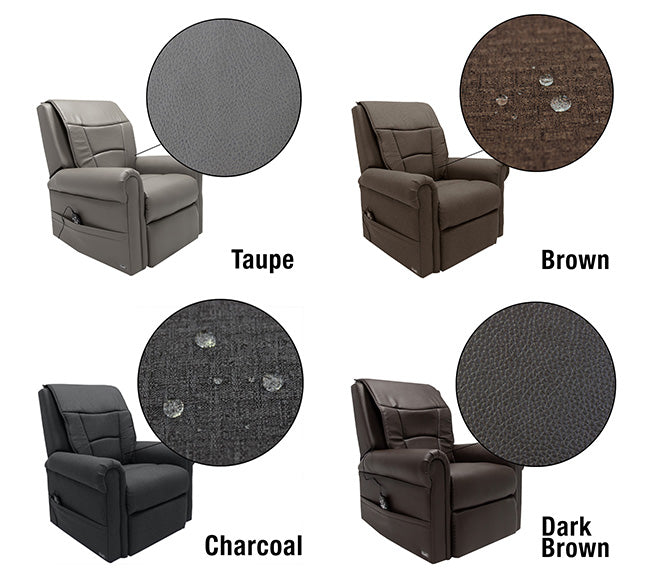 Osaki OLT-C Kneading Massage Lift Chair - Colors: Taupe, Brown, Charcoal, Dark Brown
