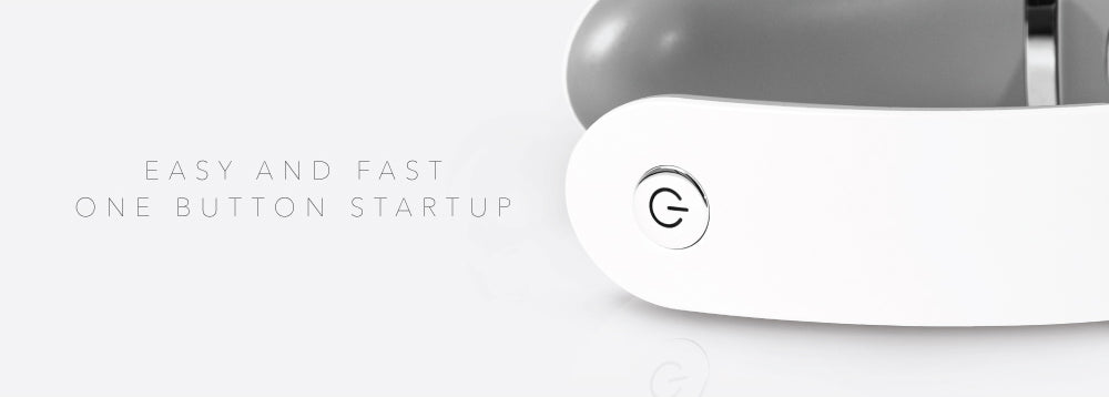 easy and fast one button startup