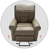 Osaki OLT-C Kneading Massage Lift Chair - Lifting Up & Down