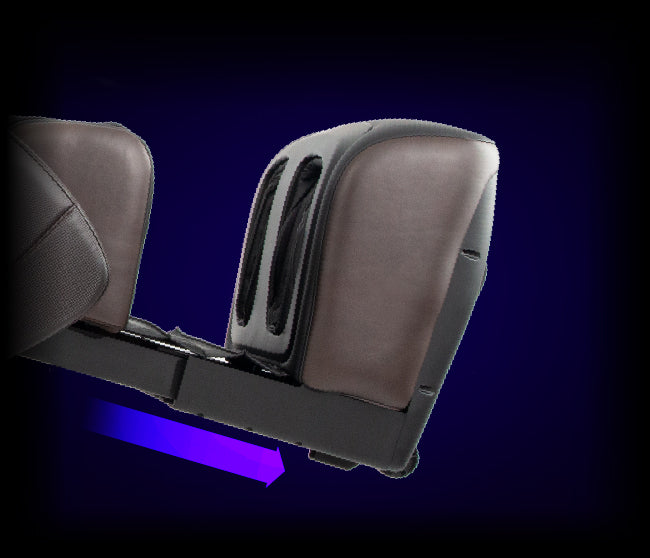 Automatic Leg Extension & Covered Footrest