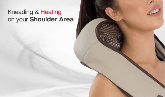 Kneading & Heating on your Shoulder area