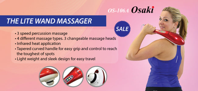 OS-106A Handheld Massager
