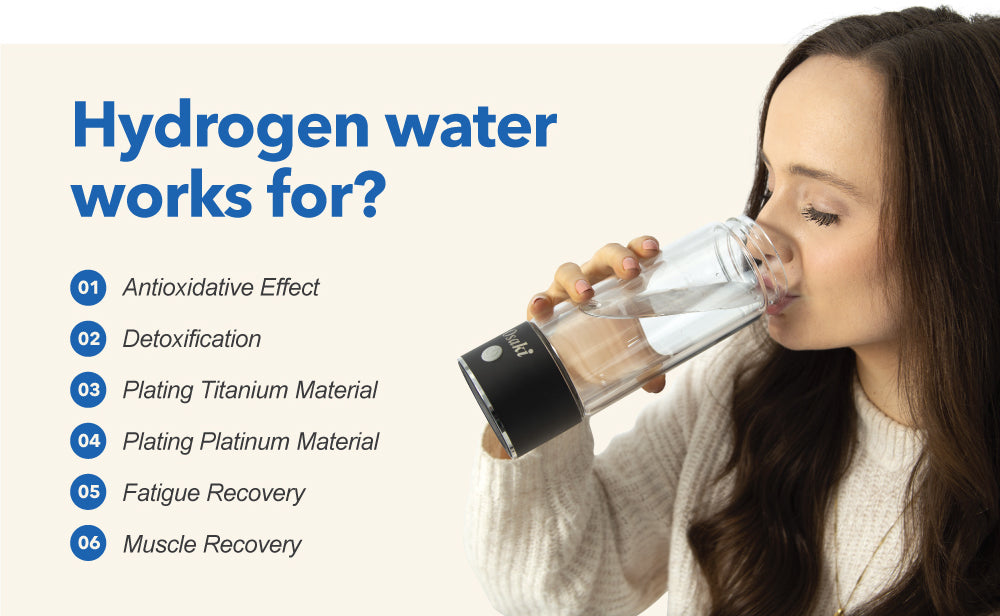hydrogen water works for