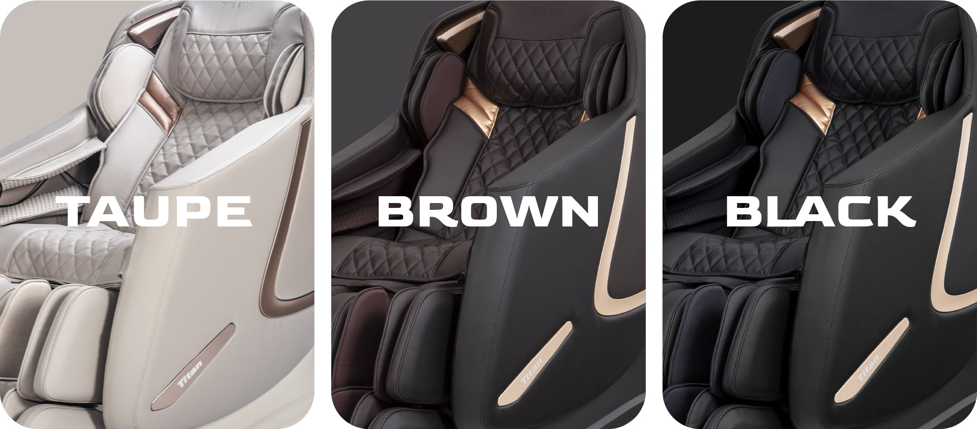 Titan 3D Prestige taupe, brown and black colors