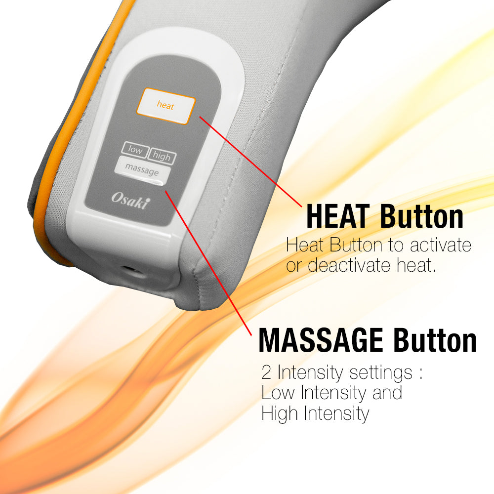 Heat button, Massage Button