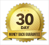 30day money back guarantee;