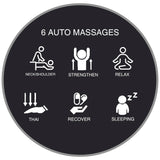 6 Auto Massage Programs