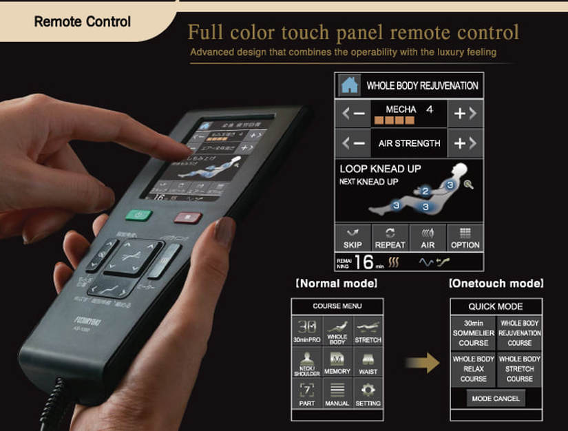 Easy to Use Touch Screen Remote