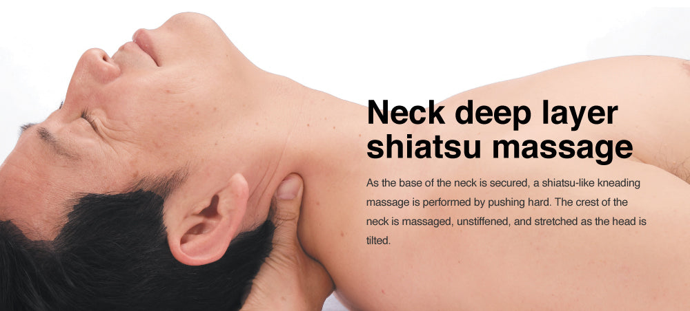 neck deep layer shiatsu massage