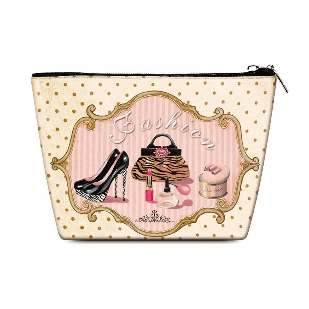 OH Fashion Cosmetic Bag Vintage Queen - superfashionwholesaler