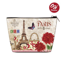 Load image into Gallery viewer, OH Fashion Cosmetic Bag Paris - superfashionwholesaler
