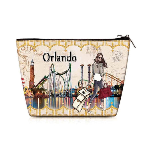 OH Fashion Cosmetic Bag Amazing Orlando - superfashionwholesaler