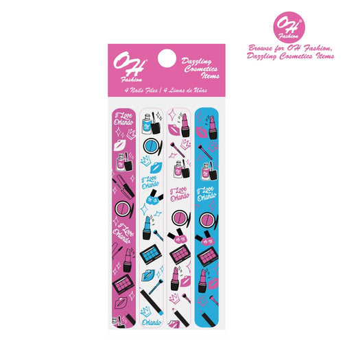 OH Fashion Large Nail Files Set Orlando Chic - superfashionwholesaler