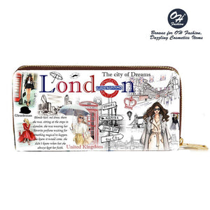 OH Fashion Wallet Adventurous London - superfashionwholesaler