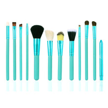 Load image into Gallery viewer, OH Fashion Makeup Brushes Coral Blue - superfashionwholesaler