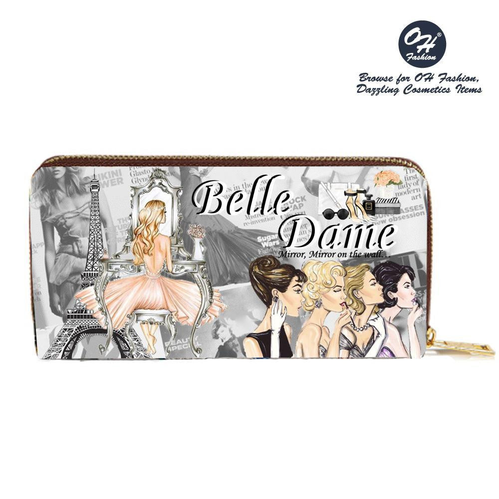 OH Fashion Wallet Belle Dame - superfashionwholesaler