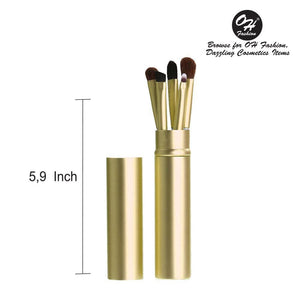 OH Fashion Makeup Brushes Jet Diva Gold - superfashionwholesaler