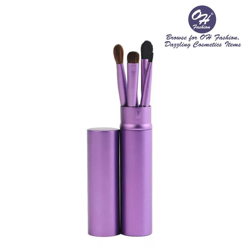 OH Fashion Makeup Brushes Jet Diva Violet - superfashionwholesaler