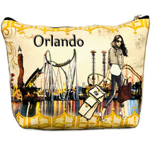 Load image into Gallery viewer, OH Fashion Cosmetic Bag Amazing Orlando