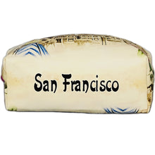 Load image into Gallery viewer, OH Fashion Cosmetic Bag Beautiful San Francisco