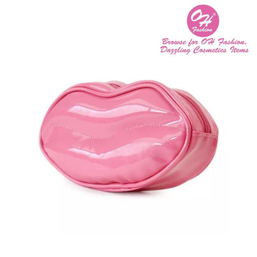 OH Fashion Cosmetic Bag Glamorous Smooch Blushing Pink - superfashionwholesaler