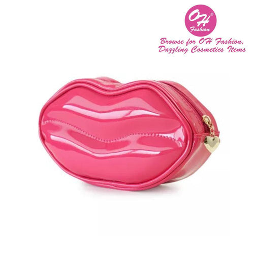 OH Fashion Cosmetic Bag Glamorous Smooch Pink Scandal - superfashionwholesaler