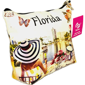 OH Fashion Cosmetic Bag Luxurious Florida